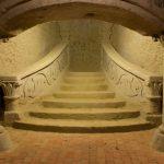 Grál Pince (lépcső)